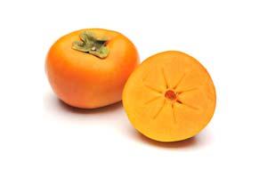 Getrocknete Sharonfrucht